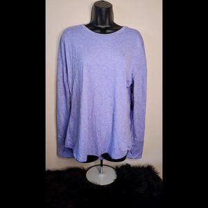 Avia Long Sleeve Brushed Running Tee Size XL